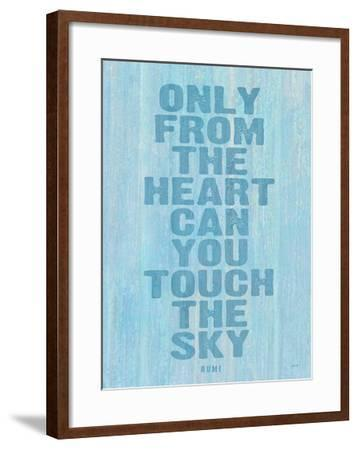 Only From The Heart-Lisa Weedn-Framed Giclee Print