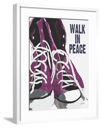 Walk In Peace-Lisa Weedn-Framed Giclee Print