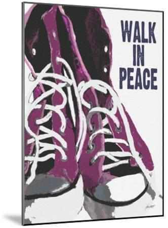 Walk In Peace-Lisa Weedn-Mounted Giclee Print