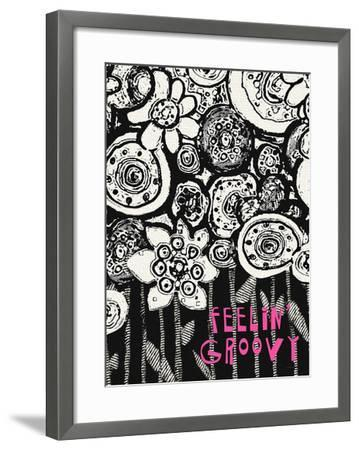 Feelin' Groovy-Lisa Weedn-Framed Giclee Print