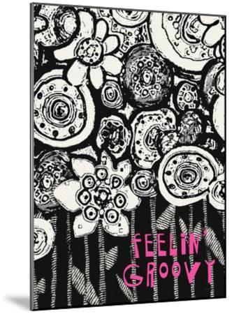 Feelin' Groovy-Lisa Weedn-Mounted Giclee Print