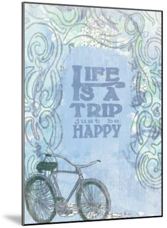 Life Is A Trip-Lisa Weedn-Mounted Giclee Print