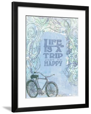 Life Is A Trip-Lisa Weedn-Framed Giclee Print