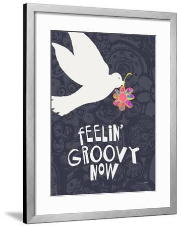 Feelin' Groovy Now-Lisa Weedn-Framed Giclee Print