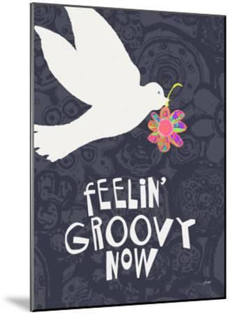 Feelin' Groovy Now-Lisa Weedn-Mounted Giclee Print