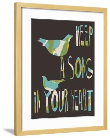 Keep A Song-Lisa Weedn-Framed Giclee Print