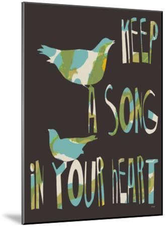 Keep A Song-Lisa Weedn-Mounted Giclee Print