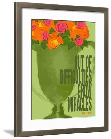 Out Of Difficulties-Lisa Weedn-Framed Giclee Print