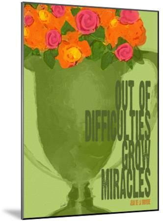 Out Of Difficulties-Lisa Weedn-Mounted Giclee Print