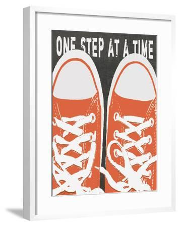 One Step At A Time-Lisa Weedn-Framed Giclee Print