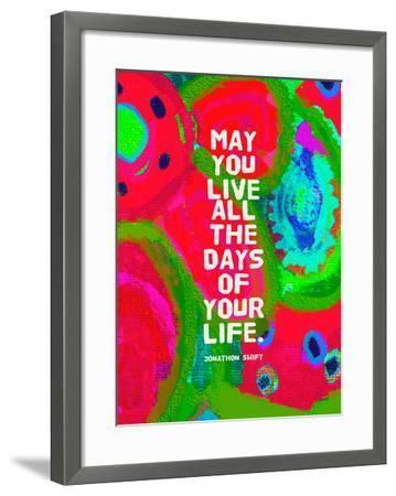 May You Live-Lisa Weedn-Framed Giclee Print