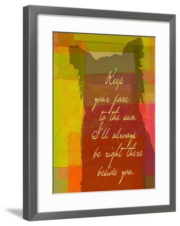Keep Your Face To The Sun-Lisa Weedn-Framed Giclee Print