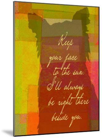 Keep Your Face To The Sun-Lisa Weedn-Mounted Giclee Print