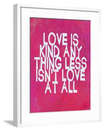 Love Is Kind-Lisa Weedn-Framed Giclee Print