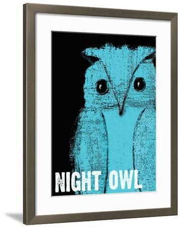 Night Owl-Lisa Weedn-Framed Giclee Print