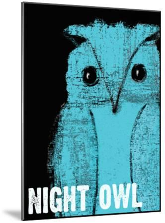 Night Owl-Lisa Weedn-Mounted Giclee Print