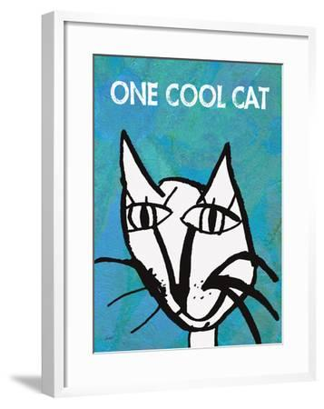 One Cool Cat-Lisa Weedn-Framed Giclee Print