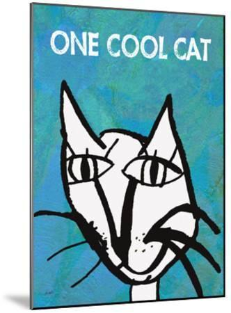 One Cool Cat-Lisa Weedn-Mounted Giclee Print