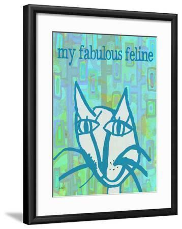 Fabulous Feline-Lisa Weedn-Framed Giclee Print