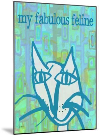 Fabulous Feline-Lisa Weedn-Mounted Giclee Print