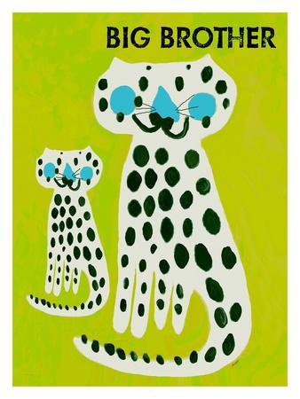 Big Brother-Lisa Weedn-Framed Giclee Print