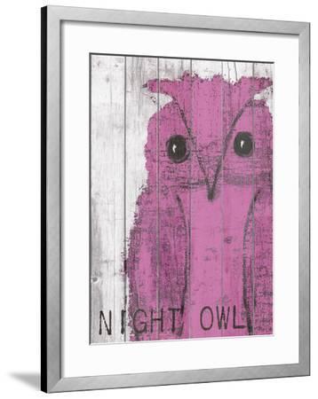 Night Owl Pink-Lisa Weedn-Framed Giclee Print