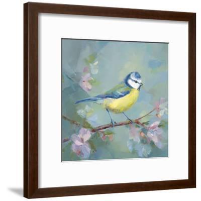 Woodland Birds I-Sarah Simpson-Framed Art Print