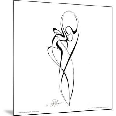 Dancing Couple III-Alijan Alijanpour-Mounted Art Print
