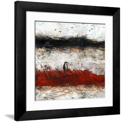 L'attente-Marie Claprood-Framed Art Print