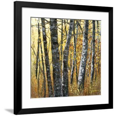 Treescape 4-Carole Malcolm-Framed Art Print