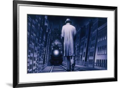 Narco Analyse-Alain Cardinal-Framed Art Print