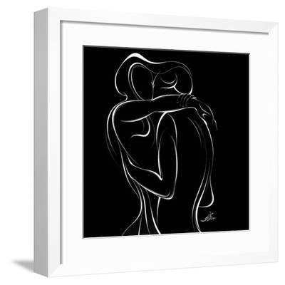 United Couple IX-Alijan Alijanpour-Framed Art Print