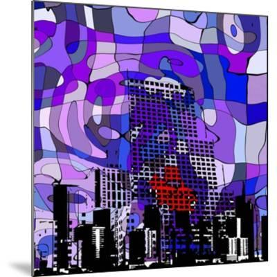 Urban Color IV-Jefd-Mounted Art Print