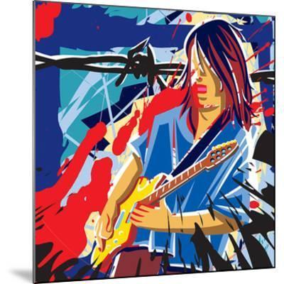Bloody Blues- Ray Lengele-Mounted Art Print