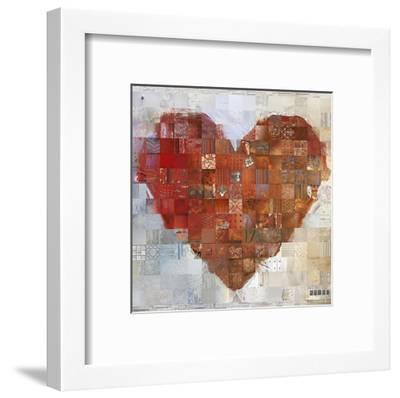 Cœur à vif-ARY KP-Framed Art Print