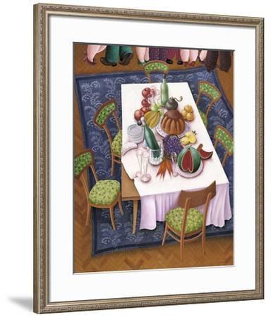 Antes del Postre-Elena Narkevich-Framed Art Print