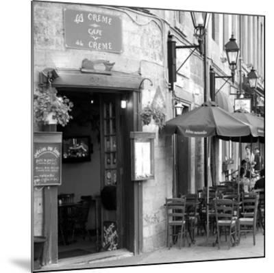 Café crème de la crème-Carl Ellie-Mounted Art Print