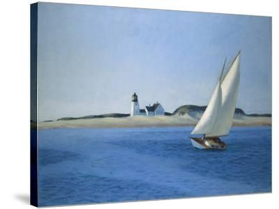 The Long Leg, 1930-Edward Hopper-Stretched Canvas Print