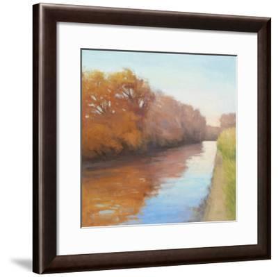 Creekside Stroll-David Skinner-Framed Giclee Print