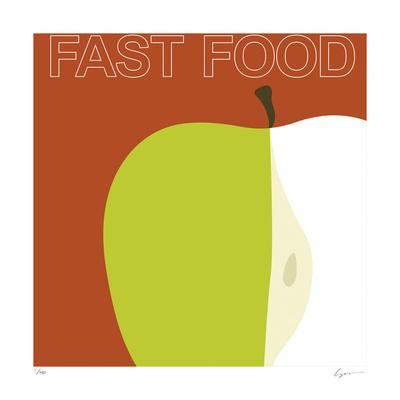 Fast Food-Yuko Lau-Framed Giclee Print