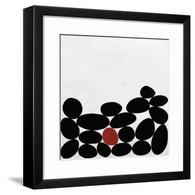 One Red Stone-Yuko Lau-Framed Giclee Print