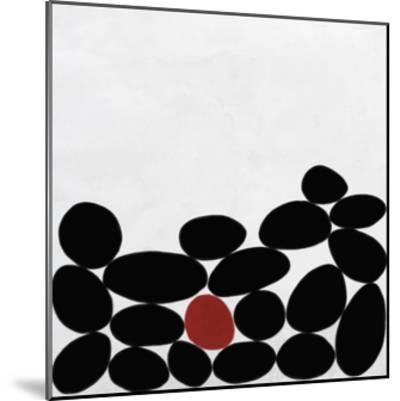 One Red Stone-Yuko Lau-Mounted Giclee Print