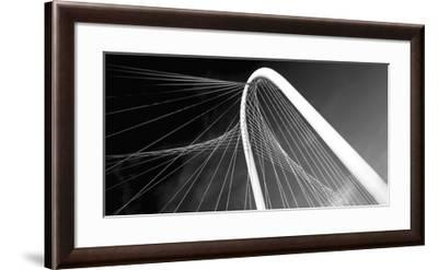 Bridge Arch and Cables-Ken Bremer-Framed Giclee Print