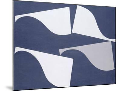 Fluttering Forms, 1935-Sophie Taeuber-Arp-Mounted Giclee Print