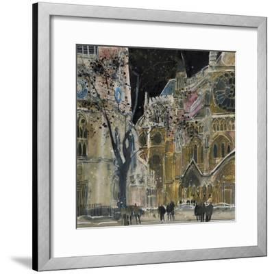Ecclesiastical Icon, Westminster Abbey, London-Susan Brown-Framed Giclee Print