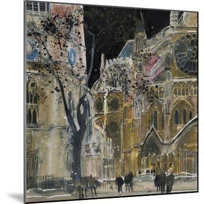 Ecclesiastical Icon, Westminster Abbey, London-Susan Brown-Mounted Giclee Print