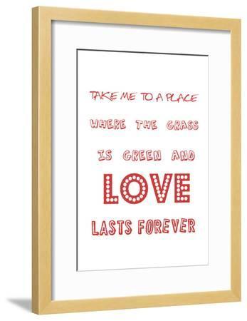 For Love's Sake-Sheldon Lewis-Framed Art Print