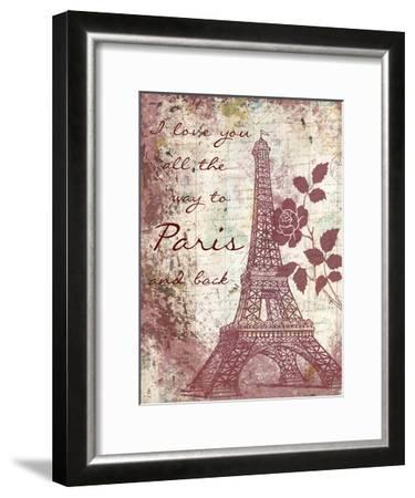 Marsala Romance-Sheldon Lewis-Framed Art Print