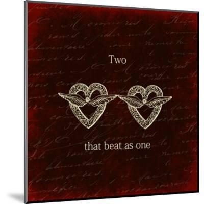 Two Hearts-Sheldon Lewis-Mounted Art Print