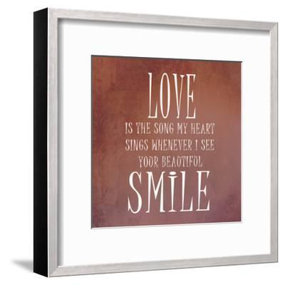 Your Smile-Sheldon Lewis-Framed Art Print